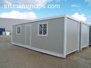 Construcción modular: oficina, caseta