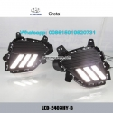 Hyundai Creta LED cree DRL day time runn