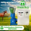 Maquina Meelko para pellets MKFD200C