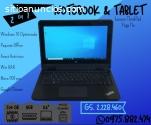 Notebook Lenovo, pantalla táctil