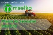 Planta de extrusión MEELKO MKFD70