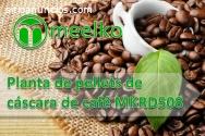 Planta de pellets de cáscara de café MEE