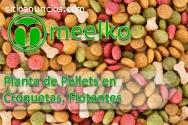 Planta de Pellets en Croquetas Flotante
