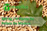 300 Kg / H Planta De Pellets De Madera M