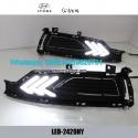 Hyundai Solaris DRL LED Daytime Running