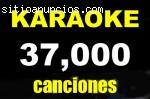 Karaoke 37,000 canciones, musica, todo g