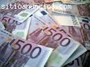 Oferta de préstamo de dinero sin costos