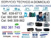 993691682 SERVICIO TÉCNICO DE LAPTOP