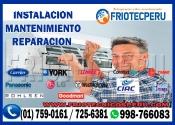 Aire Acondicionado Servicio tecnico Lima