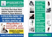 ALQUILER DE CAMAS CLINICAS