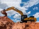 Alquiler Excavadoras sobre orugas SANY d