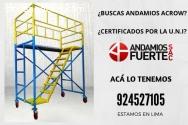 Andamios acrow venta