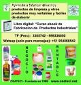 Aprenda a fabricar productos de limpieza