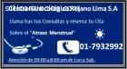 Atraso menstrual 7932992 en villa el sal