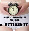 Atraso Menstrual Lima 977153847