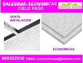 BALDOSAS PARA CIELO RASO 968502936