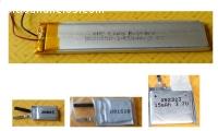 Baterías de polímero de litio 3 7V - mod