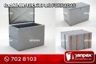 Cajas de Tecnopor Forradas -  JANPAX