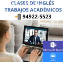 CLASES DE INGLES | INTERMEDIO - AVANZADO