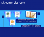 CLASES DE LENGUAJE, RAZONAMIENTO VERBAL,
