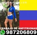 Contratamos Venezolanas anfitrionas