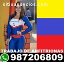 Contratamos Venezolanas para Anfitrionas