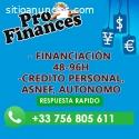 CREDITO POR ASNEF/AUTONOMO/EMPRESAS
