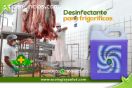 Desinfectante ecologico de FRIGORÍFICOS