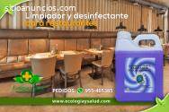 Desinfectante ecologico de restaurantes