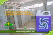 Desinfectante, ecologico para baños