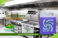 Desinfectante, ecologico para cocinas