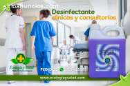 Desinfectante ecológico para hospitales
