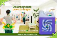 Desinfectante ecologico para tu hogar