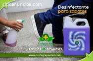 Desinfectante ecologico para zapatos