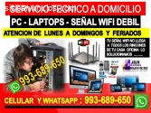 dTecnico de internet wifi Pcs laptops