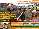Ejecución obras de saneamiento Agua 2019