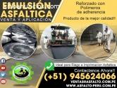 EMULSION ASFALTICA CON POLIMEROS CSS -1H