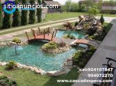 estanques artificales decorativos