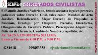 Estudio Valeriano - Abogados Civilistas