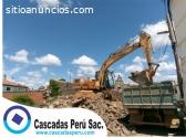 excavaciones en obra,desmonte,