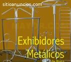 Exhibidores Metálicos y Colgadores