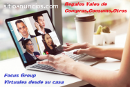 Focus Group virtual desde su casa