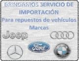 HACEMOS ENVÍOS DE REPUESTOS PARA AUTOS