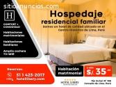 HOTEL FAMILIAR Y DE TRADICIÓN EN LIMA CE