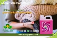 Jabon ecologico para tejidos delicados