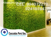 jardin vertical artificial, muro verde