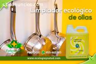 Limpiador ecológico de ollas