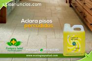 Limpiador y aclarante ecológico de pisos