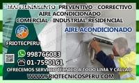 MANTENIMIENTO CORRECTIVO AIRE ACONDICION