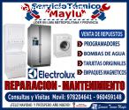MANTENIMIENTO ELECTROLUX DE LAVA SECA